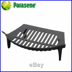 16 Grate Fireplace set Fret Front Ash Pan Tool Black Fireside Fire Set- 3034