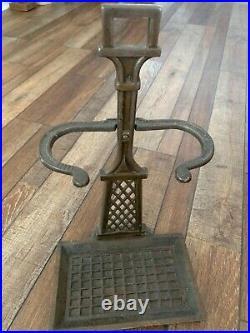 1800s antique hearth set