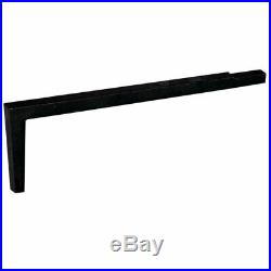 2 Piece Fireplace Tool Set with Long Shank For Andiron & Black Ball Andiron