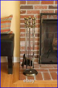 Antique Brass/Black Sutton Tool Set New