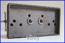 Antique fireplace tool set japanned flashed copper deco vtg victorian
