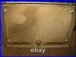 BEST Virginia Metalcrafters 5 Piece Brass Fireplace Tool Set VERY GENTLY USED