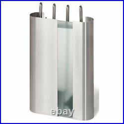 Blomus 65312 5pc Fireplace Tools Set Chimo Matt SST Poker Tongs Shovel Brush NEW