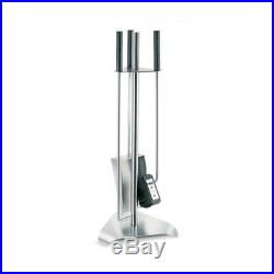 Blomus CHIMO Fireplace Triangle Base 4 Piece Tool Set Stainless Steel 65137