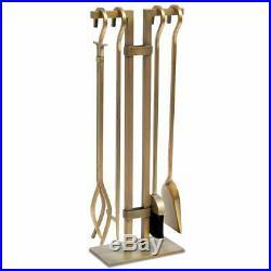 Fireplace Tool Set Sinclair 18086 Shovel, Brush, Tongs, & Poker Fire Tools Set