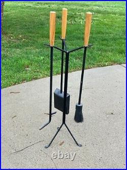 George Nelson Fireplace tool set Mid Century Modern Eames era