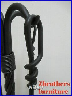 Hand Forge Wrought Iron Fireplace Tools set