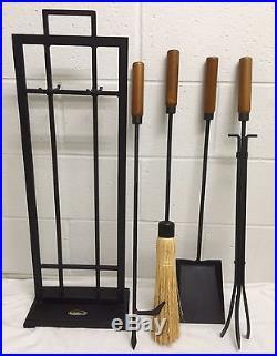 Mid Century Modern Smith Hawken Fireplace Tools Wrought Iron Shovel