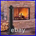 Modern Fireplace Iron Fire Place Poker Tool Set Fireplace Tools 5pc Black