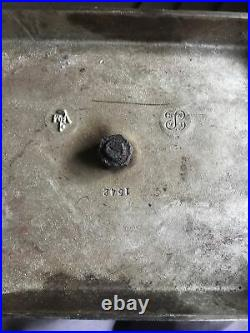 Modernist set of Polished Nickel/Steel Fireplace Tool Set