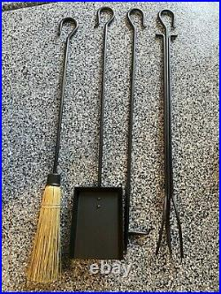 New Pilgrim Home and Hearth 18014 Large Hearth Iron Fireplace Tool Set 39