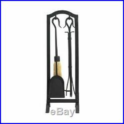 Panacea Products 15037 5PC Fireplace Tool Set, Green