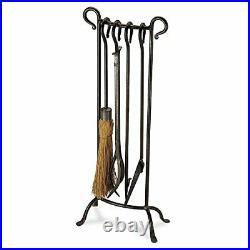 Pilgrim 18012 Bowed Fireplace Tool Set, 31 H/16 Lb, Vintage Iron