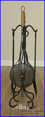 Quality Set Iron Fireplace Tools