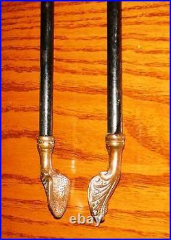 RIGEWAY 1900 Antique Fire Place Tool Set