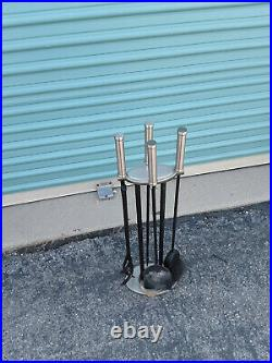 STAINLESS STEEL Fireplace Tools Set STAINLESS STEEL Fire tools FIRE TOOLS