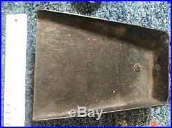 Set Vintage Wrought Iron Fireplace Tools Poke Broom Shovel Hand forge antique
