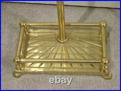 Solid Brass Fireplace Tool Set 4 Pieces