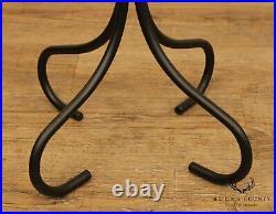 Twisted Iron Set Fireplace Tools