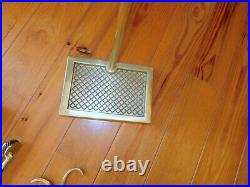 Va Metalcrafters/ Harvin Brass 6 Piece Fireplace Tool Set