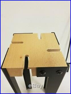 Valcourt Duplex Fireplace Tool Set AC02620 Broom Poker Shovel Clamp