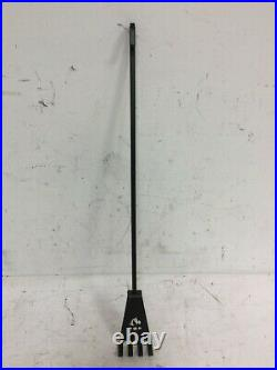 Valcourt Ineo Fireplace Tool Set AC02621 Poker, Broom, Shovel & Rake Black