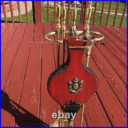 Vintage Fireplace Tool Set Bery Nice Stoker Poker Shovel Fire Tools