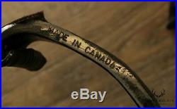 Vintage Forged Steel Set Hand Crafted Fireplace Tools