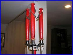 Vintage Mid-century fireplace tool set (Preway, etc) for freestanding fireplace