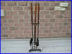 Vintage Seymour Fireplace Tools 4 Piece Set 32 MID Century