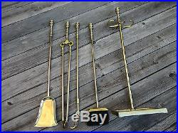 Metalcrafters 5 Piece Fireplace Tools Set & Stand No sign of use