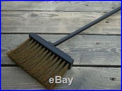 Wrought iron fireplace tools set, 5 Pieces (Poker, Shovel, Tongs, Broom, Holder)